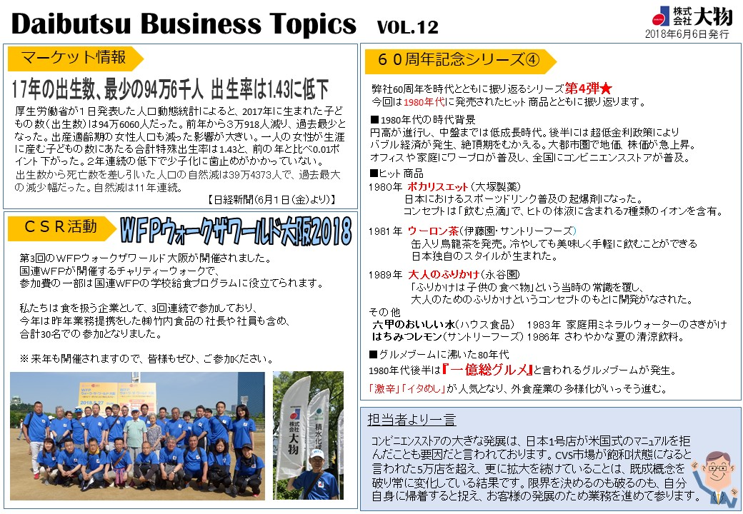 Daibutsu Business Topics Vol.12