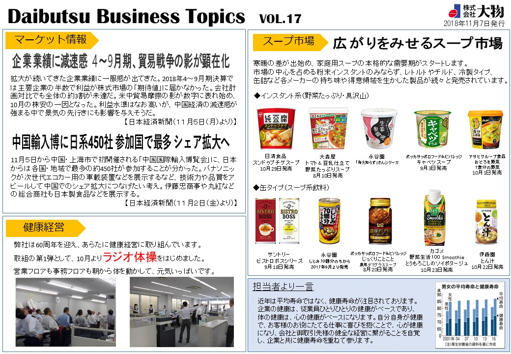 Daibutsu Business Topics Vol.17