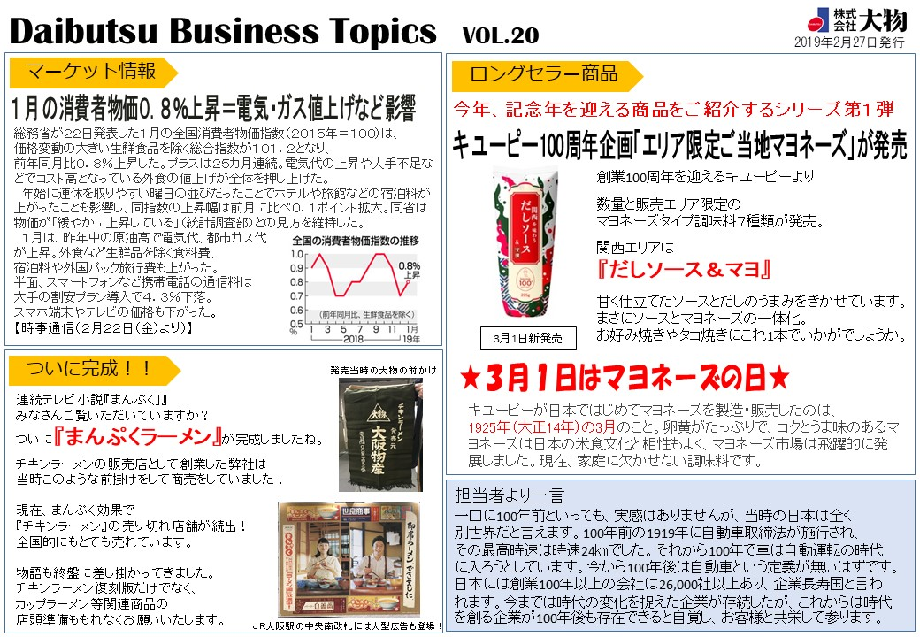Daibutsu Business Topics Vol.20