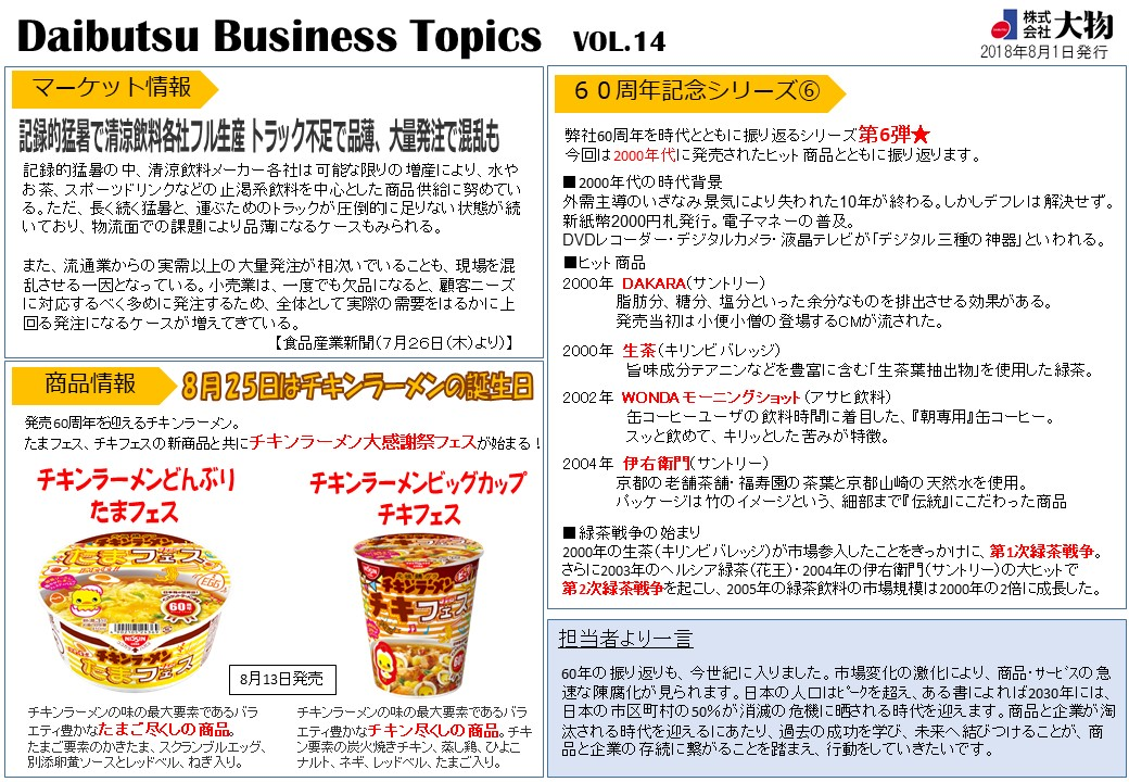 Daibutsu Business Topics Vol.14