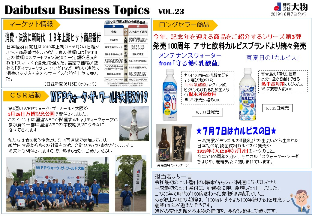 Daibutsu Business Topics Vol.23